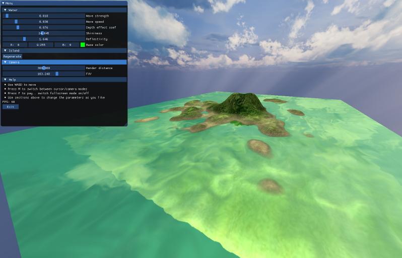 Island Rendering