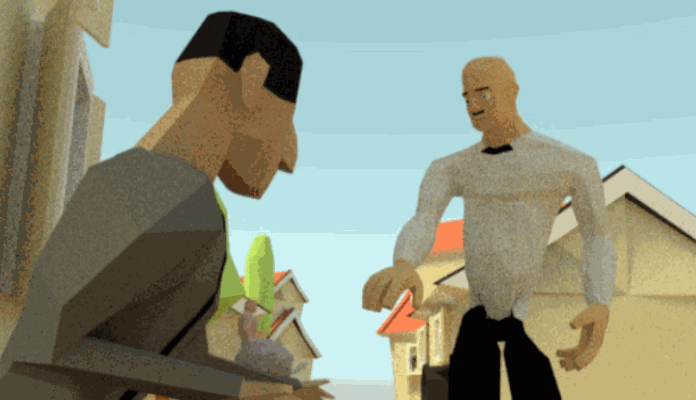 Short Low-Poly Animation